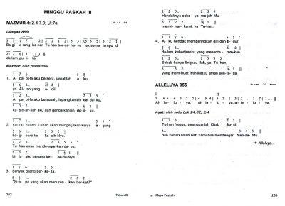 Teks Mazmur lomba hari St. Fransiskus dari Assisi